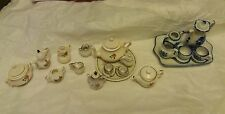 Fairy Garden, Dolls House Tea set's x23 bits in 3 set's Joblot
