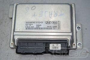 Hyundai Trajet FO 2.0 Motorsteuergerat Steuergerat Siemens VDO 39120-23890