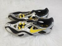 Nike Livestrong Mens Track Shoes Size 7.5 Silver Yellow