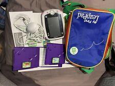 LeapFrog Leap Pad Explorer Bundle 4 Games Charger,  Bag, Usb, Mint condition