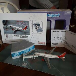 "1/400 Dragon 56136 internat Airport Terminal Section ,bridge""Air India A330-200"