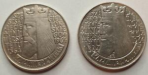 Poland set of 2 coins Kazimierz Wielki / Polish coins from the communism period