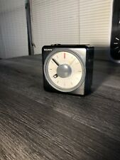Sony Icf-A10W Clock Radio ca 1980 Am/Fm Alarm Tested And Works Perfectly