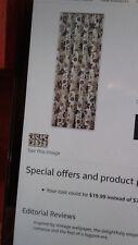 """Park Designs Isabella Shower Curtain, 72 x 72"""", burgundy/green/white NEW"""