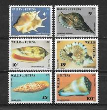 """New Calédonia """" WALLIS and FUTUNA """" 1986. Complete set 6 new stamps** (5232)"""