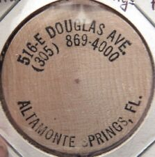 ERROR 516 E. Douglas Ave. Altamonte Springs, FL Wooden Nickel - Token Florida