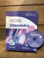Cambridge IGCSE Chemistry 2nd edn- Hodder Murray (Wilford, Earl) with CD ROM