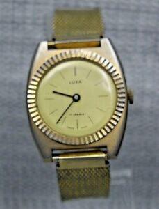 "Classic Gents Vintage ""Luxa"" Wristwatch - UK Stock"