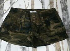Express Camouflage Low Rise Shorts 2