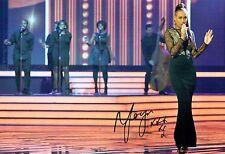 Rebecca FERGUSON SIGNED Autograph 12x8 Photo AFTAL COA X-Factor Singer