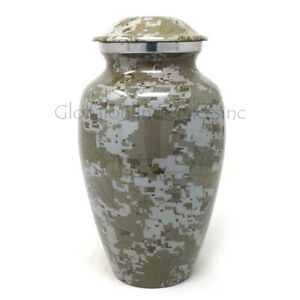 Cremation urn Modern French Aluminium Large