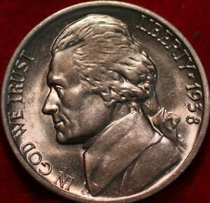 Uncirculated 1938-D Denver Mint Jefferson Nickel