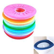 Bathroom Warmer Toilet Seat Cloth Soft Closestool Washable Lid Top Cover Pad