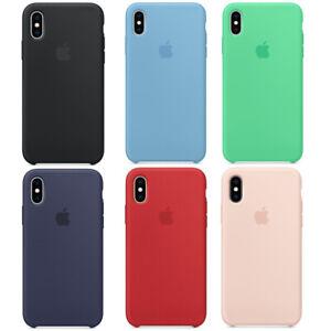 Original Apple iPhone XS Silikon Schutz Hülle Case Cover in Originalverpackung