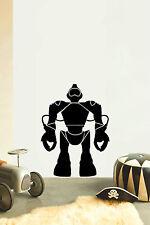 ROBOT No2 Children's bedroom nursery vinyl sticker wall transfer home art decor