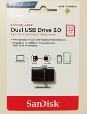 SanDisk OTG Ultra Dual USB3.0 SDDD2-032G 32GB 150MB/s for Android smartphone