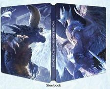 Monster Hunter World Iceborne Steelbook ohne Spiel PS4 X1 NEU