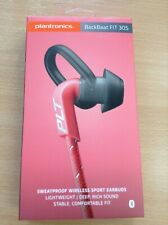 #655 Brand new Plantronics Backbeat Fit 305 Wireless Earbuds