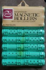 VINTAGE 1982 GOODY SNAP-OVER 16 LARGE MAGNETIC ROLLERS NEW OLD STOCK NOS