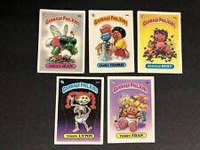 garbage pail kids series 1 Gpk Matte Lot OS1 First Series Lot Of 5 Cards #8 Of10