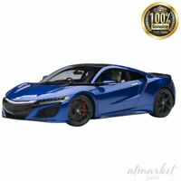 AUTOart 1/18 Mini Car 73234 Honda NSX NC1 2016 Nouvel Blue Pearl Finished JAPAN