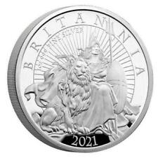 The Britannia 2021 UK One-Ounce Silver Proof Coin. Low Mintage of 2,900.