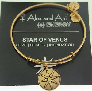 Alex and Ani Star of Venus Russian Gold Expandable Bracelet