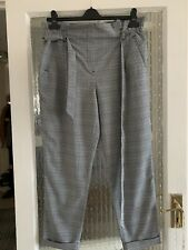 ADRIENNE VITTADINI PAPERBAG TROUSERS SIZE UK 16 IN BEAUTIFUL CONDITION