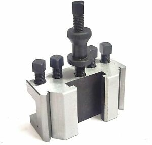 Dickson S2 / T2 Quick Change Tool Post Set for  Harrison Lathes Standard Holder