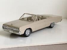 1966 Dodge Polara Promo MINT MPC Estate Sale Find Highest Grade Convertible