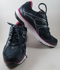 New RYKA Womens 7 M navy blue running shoes k28166WDP leather mesh