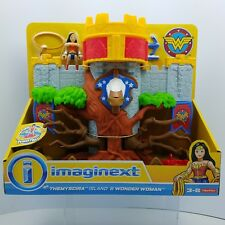 Imaginext Themyscira Island and Wonder Woman DC Super Friends Figure