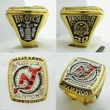 c29e62922 2003 New Jersey Devils Stanley Cup Championship Replica Ring - Martin  Brodeur