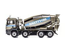 CONRAD 1/50 CAMION MAN TGS 8X4 TOUPIE BETON MATTHAI !!!