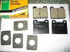 NEW QUALITY FRONT BRAKE PADS - FITS: AUDI 80 (1972-77)