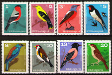 Bulgaria 1965 Sc1395-402Mi1529-36 mnh Birds