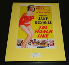 Gilbert Roland Signed Framed 16x20 Photo Poster Display JSA The French Line