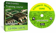Electronics Electrician Electrical Tools Equipment Training Book Course On Cd