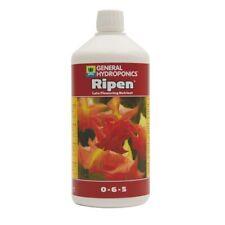 General Hydroponics GHE Ripen 1L Flowering Additive Nutrient Flush