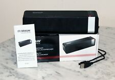 Braun Audiophila Portable Wireless Bluetooth Speaker with Rechargeable Battery