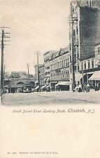 ELIZABETH NJ – South Broad Street looking North – udb (pre 1908)