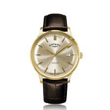 Rotary Avenger Herren Braunes Leder Armband Uhr GS05403/03
