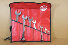 MAC TOOLS SDR7K SAE OPEN END COMBINATION SPANNER SET 3/8 to 1 co