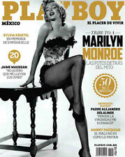 (D) PLAYBOY MEXICO MARILYN MONROE DICEMBRE / DECEMBER 2012 PLAYBOY MEXICAN ED