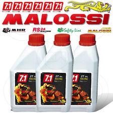2 lt 2lt Olio Malossi 7.1 2t Racing 100 Sintetico Miscela Scooter Motore 2tempi