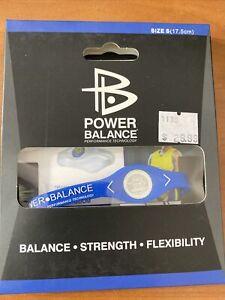 Power Balance Bracelet Wrist Size Small Royal Blue (17.5.cm) - NEW -MSRP: $29.99