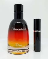 Dior - Fahrenheit Parfum - 5ml SAMPLE Decant Glass Atomizer