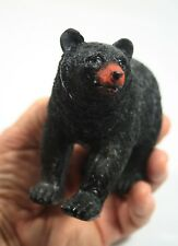 "MayRich Company Realistic Walking Black Bear 5"" Long, 3.75"" High in Original Box"
