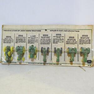Ertl JD 1967 (w/Hooks) Set Froelich,Waterloo Boy,D,A,60,730,4010  1/64 560-P