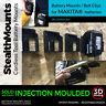 5x BATTERY MOUNTS for MAKITA 18v Storage Shelf Rack Stand Holder Slots Van Case